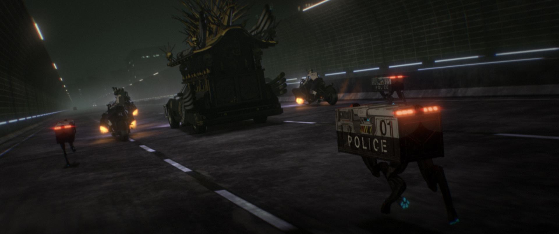 Эксклюзив: отрывок полнометражного аниме Human Lost 7