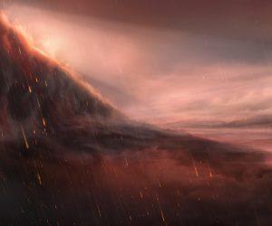 Учёные выяснили, что на экзопланете WASP-76b в созвездии Рыб идут дожди из железа