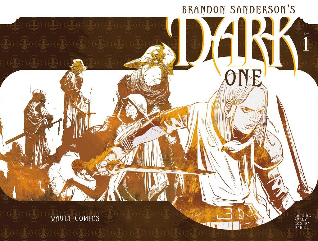 Открылся предзаказ первого тома комикса Dark One Брендона Сандерсона