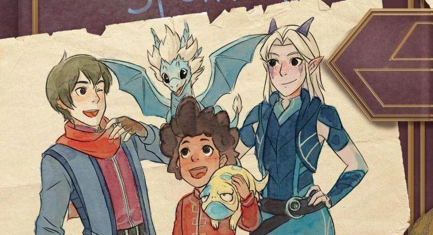 По мультсериалу «Принц-дракон» выпустили книгу. Ещё две выйдут до конца лета
