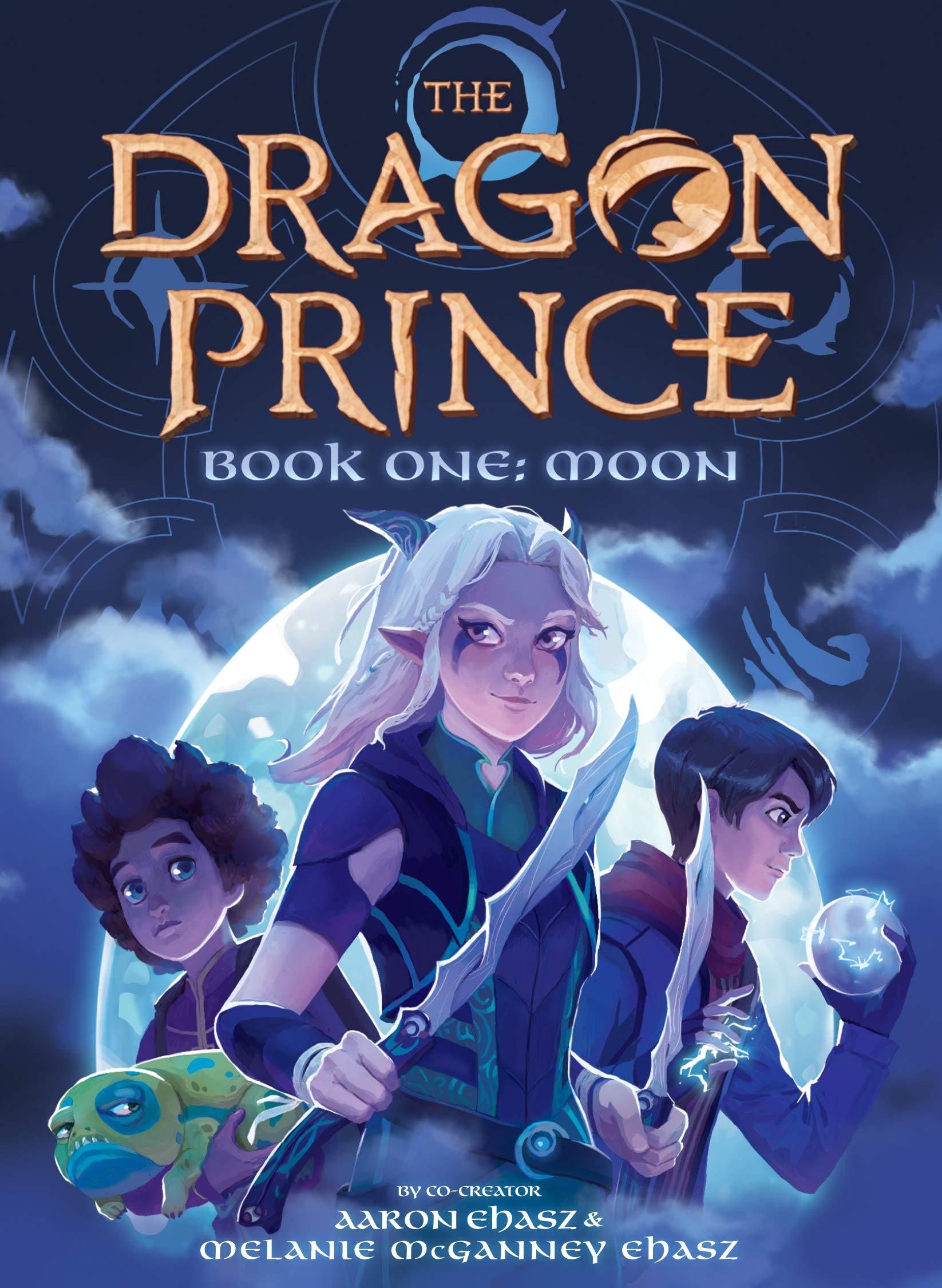 По мультсериалу «Принц-дракон» выпустили книгу. Ещё три выйдут до конца сентября