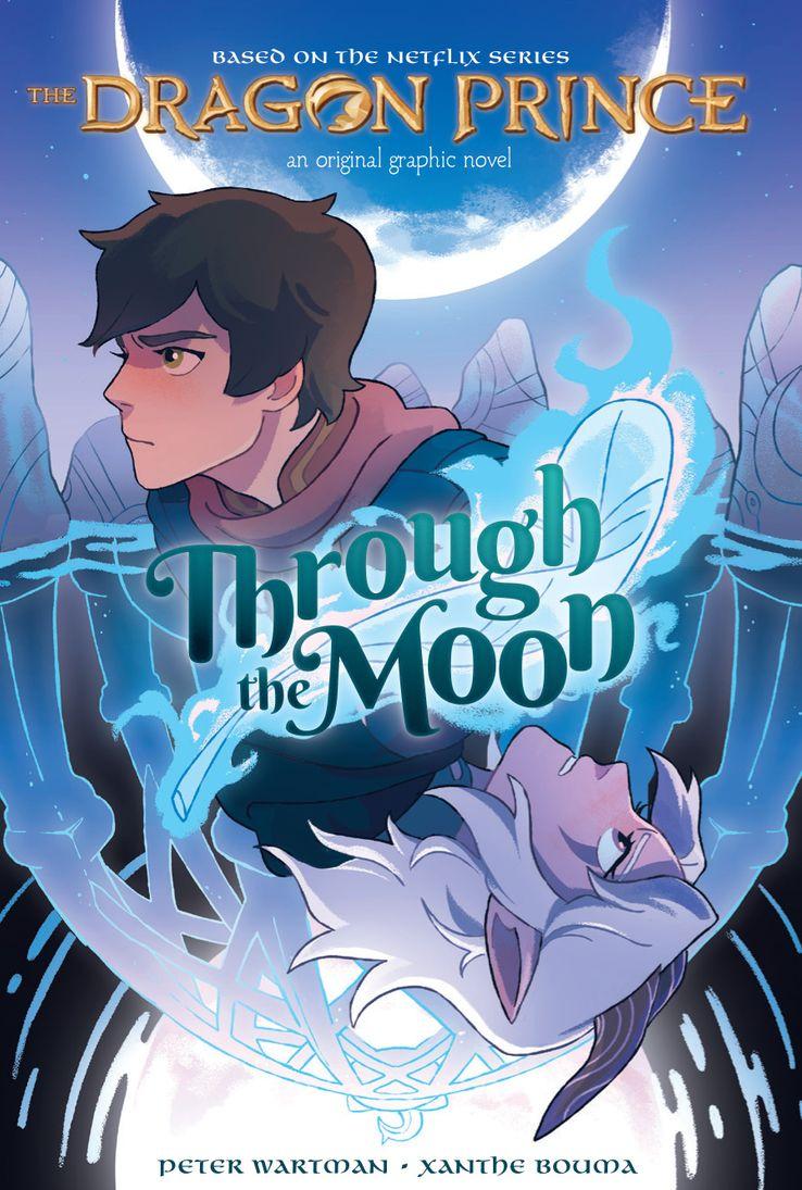 По мультсериалу «Принц-дракон» выпустили книгу. Ещё три выйдут до конца сентября 1