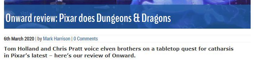 Почему «Вперёд» — лучший фильм по Dungeons & Dragons 7
