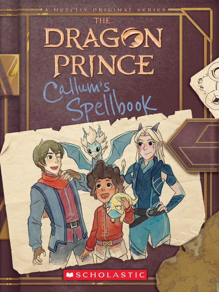 По мультсериалу «Принц-дракон» выпустили книгу. Ещё две выйдут до конца лета 1