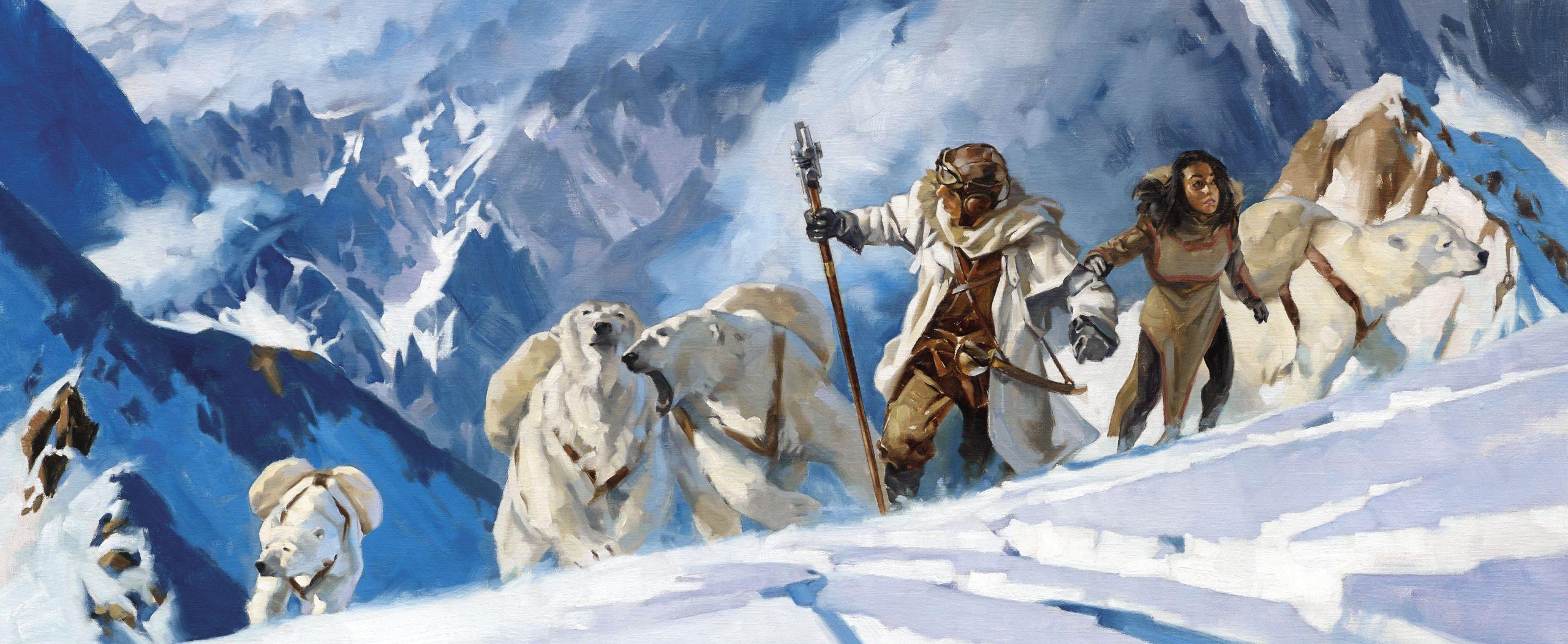 «Дневник Уэса»: отрывок изиллюстрированного романа «В ледяном плену» Грегори Манчесса 16