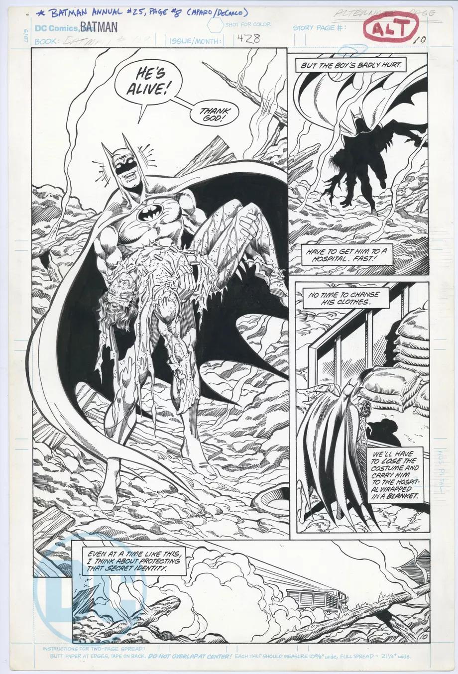 DC показала альтернативные кадры комикса «Бэтмен: Смерть в семье» — здесь Робин выжил 2