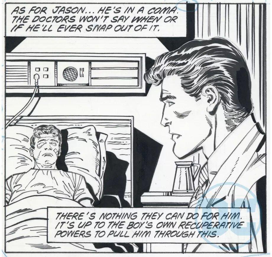 DC показала альтернативные кадры комикса «Бэтмен: Смерть в семье» — здесь Робин выжил 3
