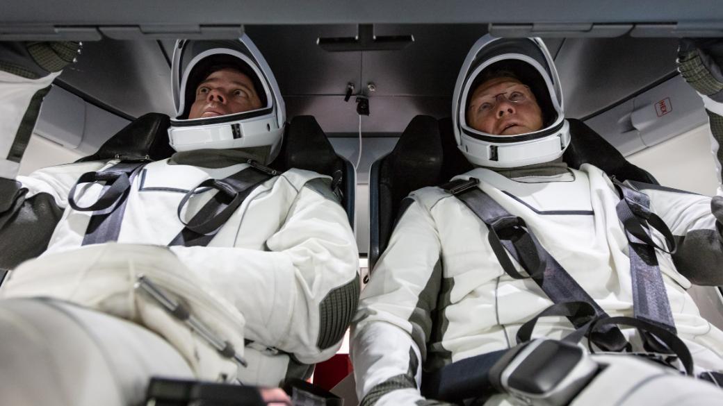 NASA и SpaceX планируют совершить первый пилотируемый запуск к МКС в середине или конце мая 1