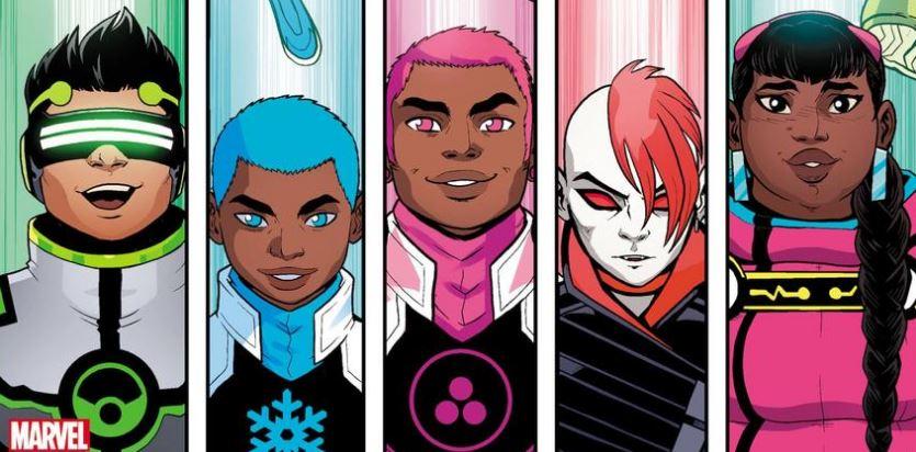 Поклонники Marvel раскритиковали издательство зановых персонажей — Сейфспейс и Сноуфлейк