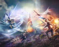 Ник Перумов «Война ангелов. Игнис»: маги против ангелов Спасителя 1