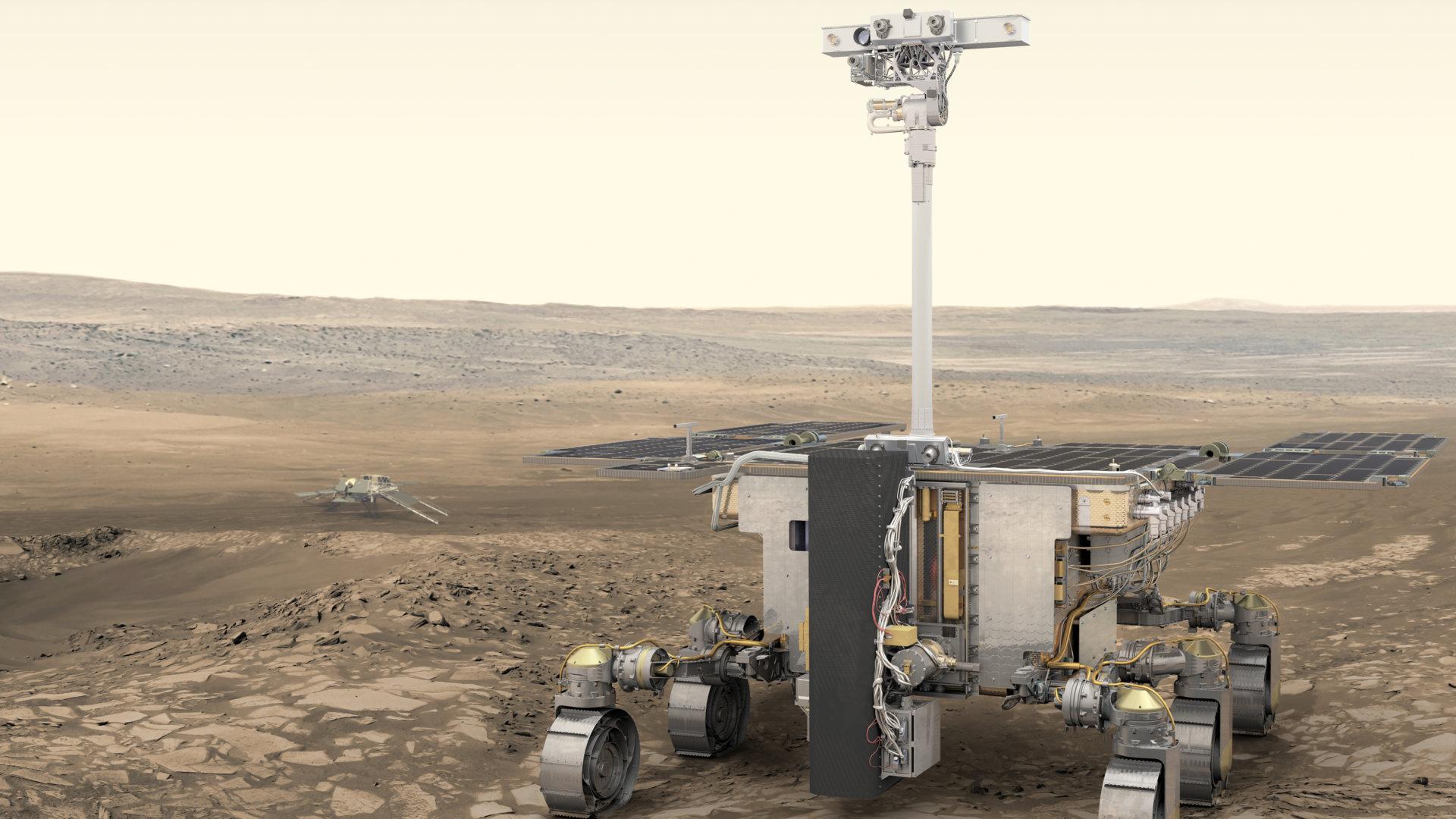 «Роскосмос» и ESA перенесли запуск миссии «ЭкзоМарс» с планетоходом «Розалинд Франклин» на 2022 год 1