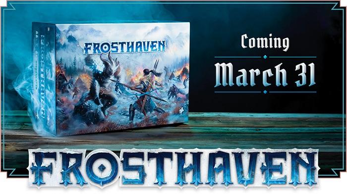 Frosthaven вышел на Kickstarter —почти пять млн долларов менее чем за сутки