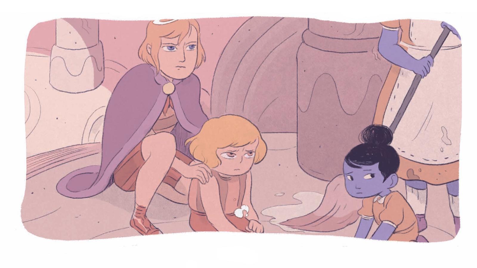 Пять миров. Том 2. Принц Кобальта. Отрывок из комикса 17
