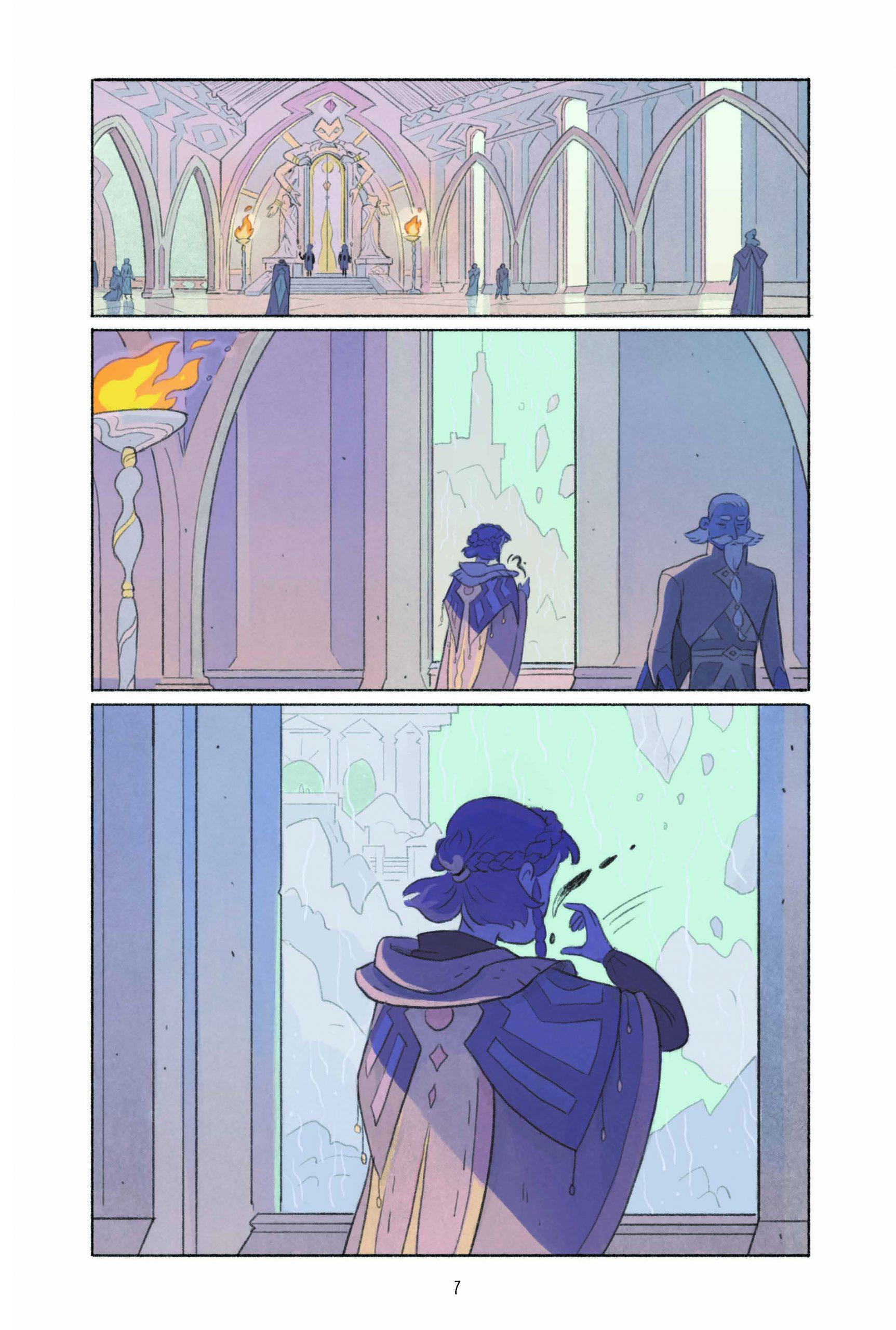 Пять миров. Том 2. Принц Кобальта. Отрывок из комикса 3