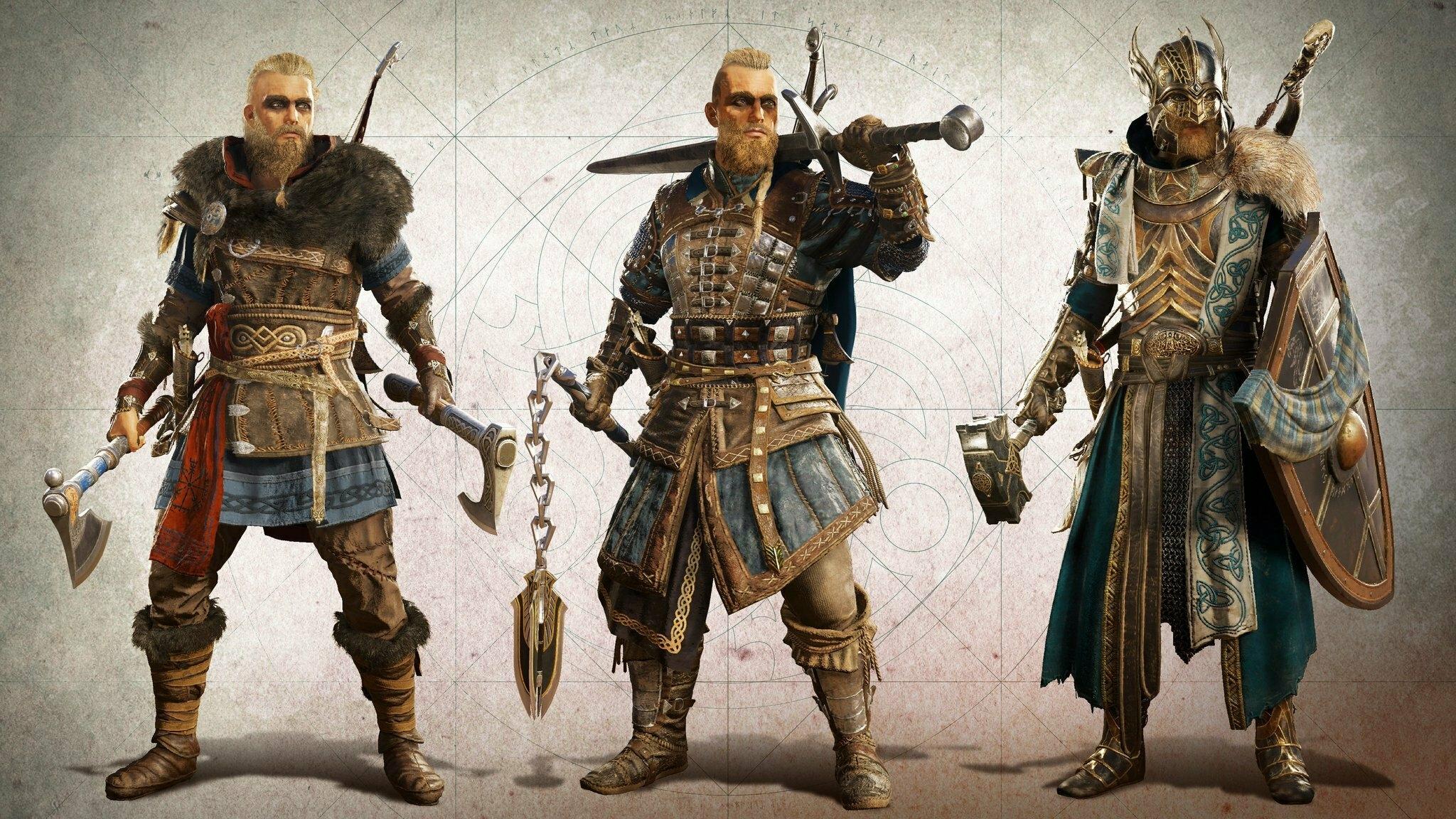 «Один с нами, братья!» — первый трейлер Assassin's Creed Valhalla 10