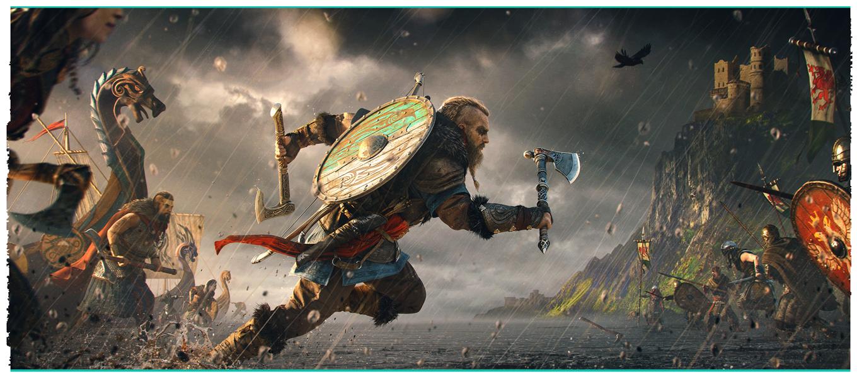 «Один с нами, братья!» — первый трейлер Assassin's Creed Valhalla 11