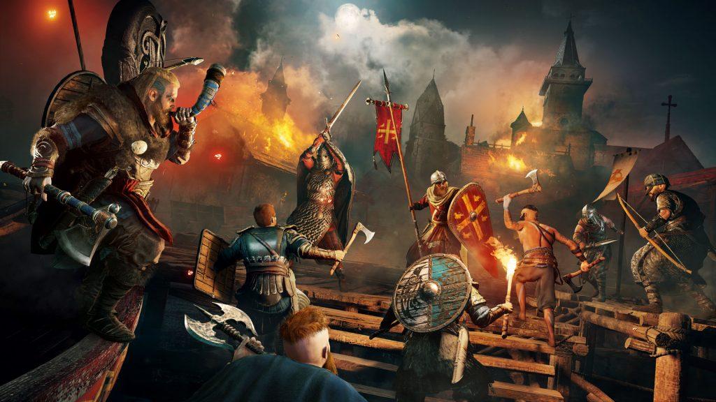 «Один с нами, братья!» — первый трейлер Assassin's Creed Valhalla 8