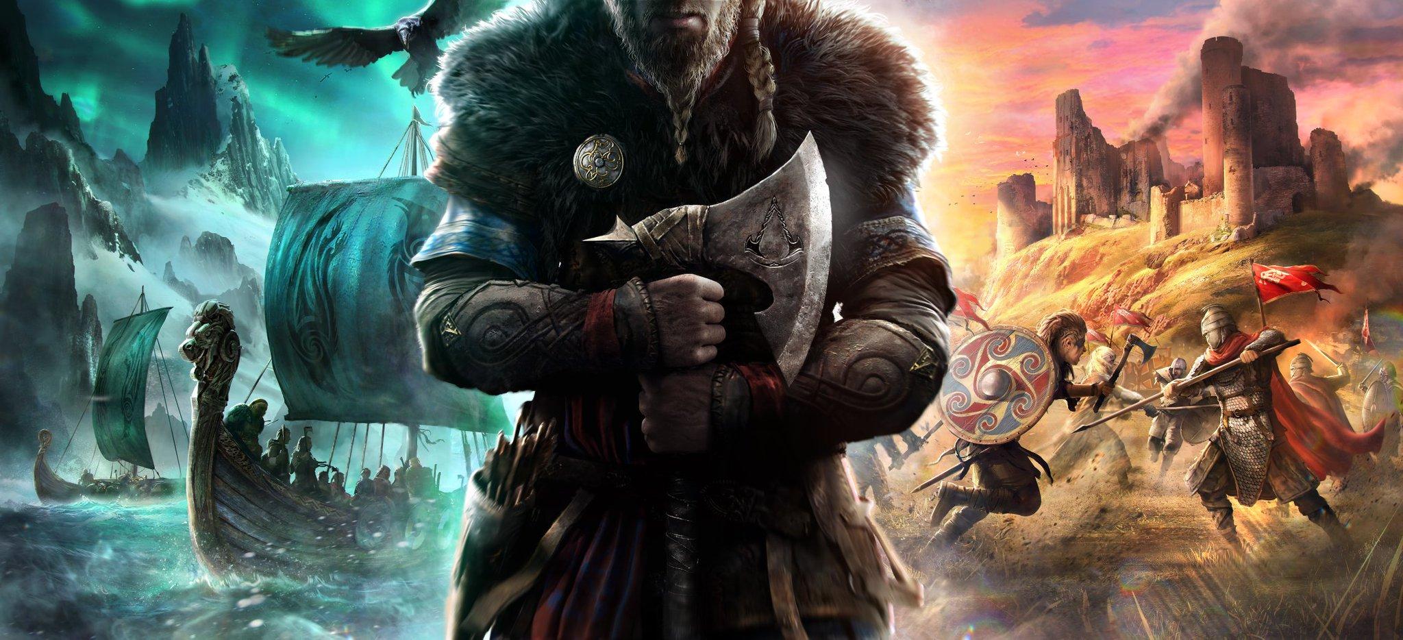 Официально: Ubisoft анонсировала Assassin's Creed Vallhalla