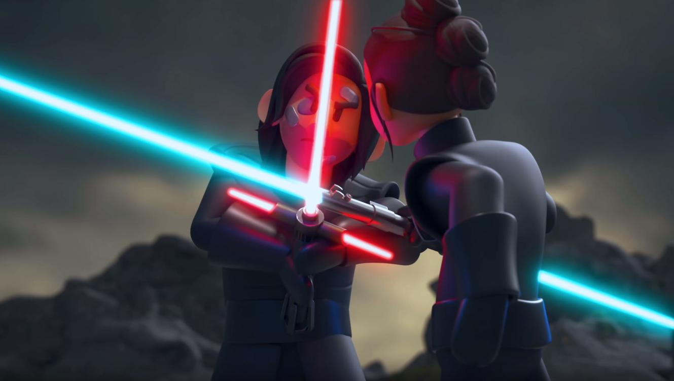 Фанаты сняли анимацию на основе оригинального сценария девятого эпизода «Звездных войн»
