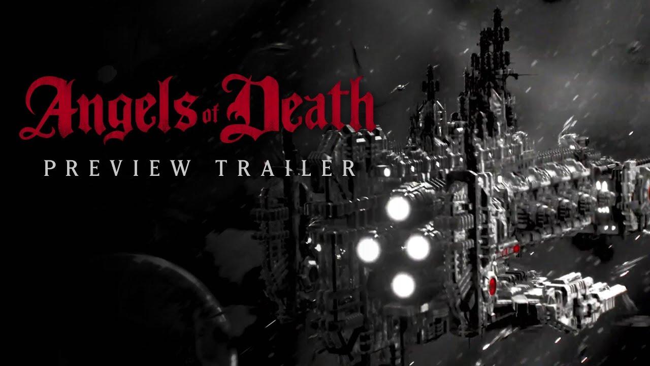 Вышел второй трейлер Angels of Death — официального анимационного сериала поWarhammer 40,000