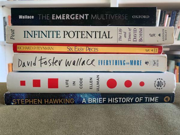 Находка: книги, которые читала Эллисон Пилл дляроли всериале Devs 1