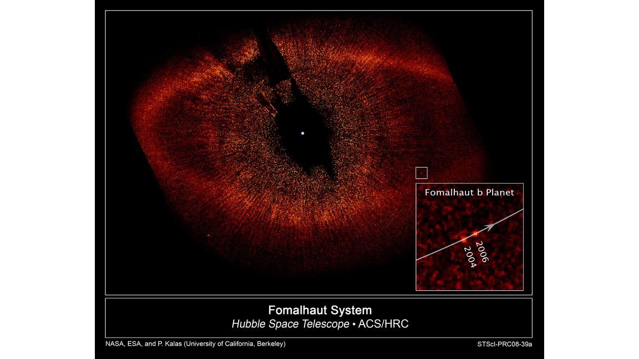 Учёные потеряли экзопланету Дагон в созвездии Южной Рыбы. А была ли она вообще? 1
