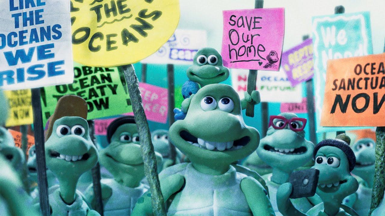 Короткометражка: Turtle Journey отстудии Aardman и Greenpeace