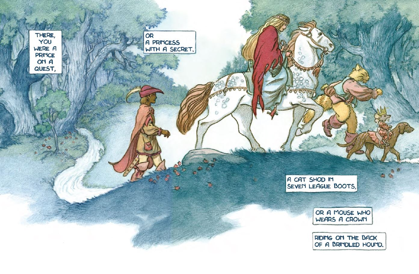 Faerie Magazine открыл доступ кнескольким номерам, раскраске и сборнику Чарльза Весса