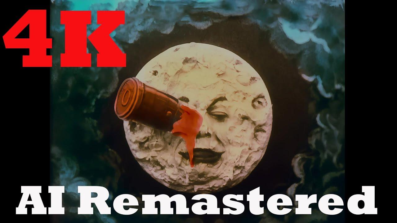 На YouTube опубликовали цветную 4К-версию «Путешествия наЛуну» Жоржа Мельеса