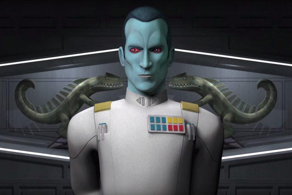 Гранд-адмирал Траун в старом и новом каноне «Звёздных войн» 2