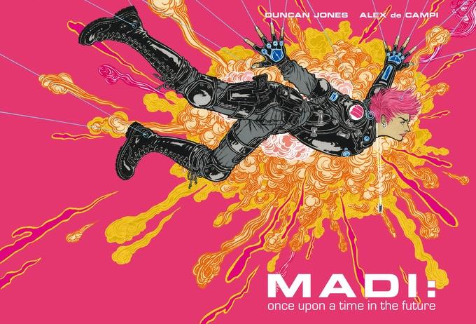 Дункан Джонс запустил сбор средств наиздание комикса Madi — финала «Лунной»трилогии 1