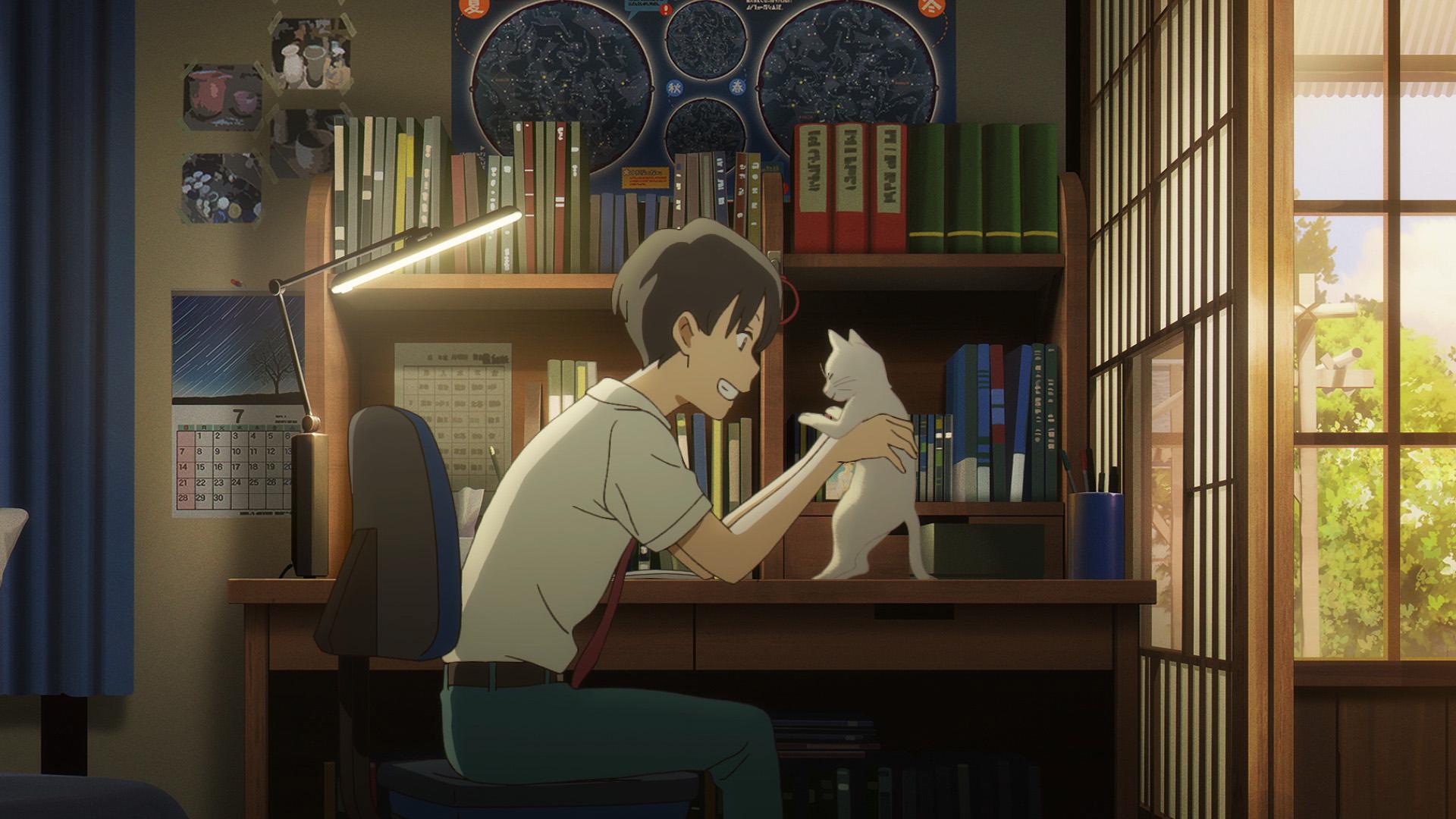Полнометражное аниме «Сквозь слёзы я притворяюсь кошкой» минует прокат и выйдет наNetflix 3
