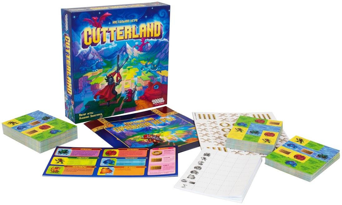 Настольная игра «Cutterland» 3