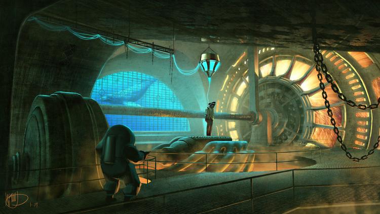 Какой могла быть несостоявшаяся экранизация BioShock 37