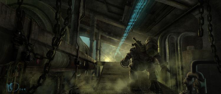 Какой могла быть несостоявшаяся экранизация BioShock 38