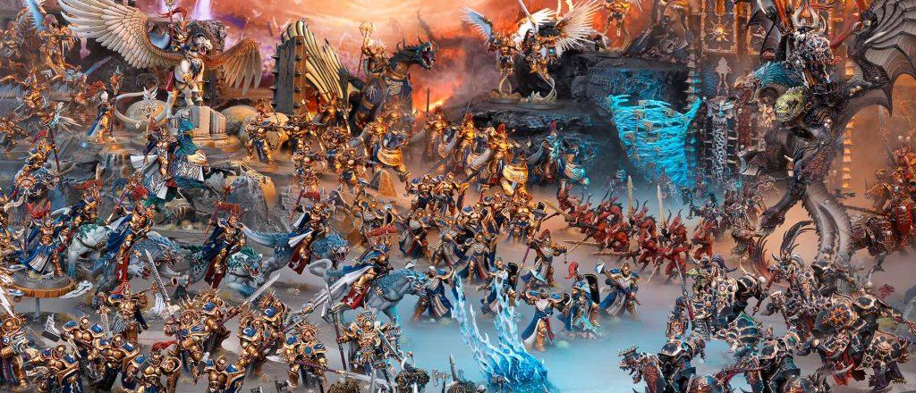 Создатели Jurassic World Evolution собираются сделать RTS по Warhammer Age of Sigmar