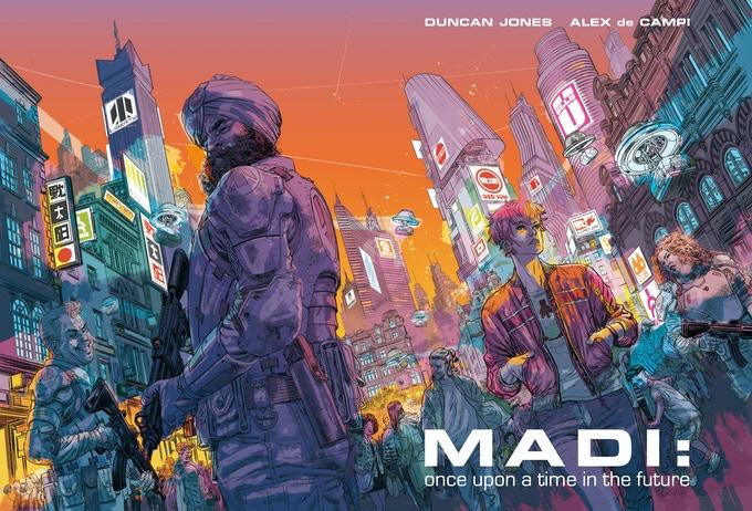 Дункан Джонс запустил сбор средств наиздание комикса Madi — финала «Лунной»трилогии
