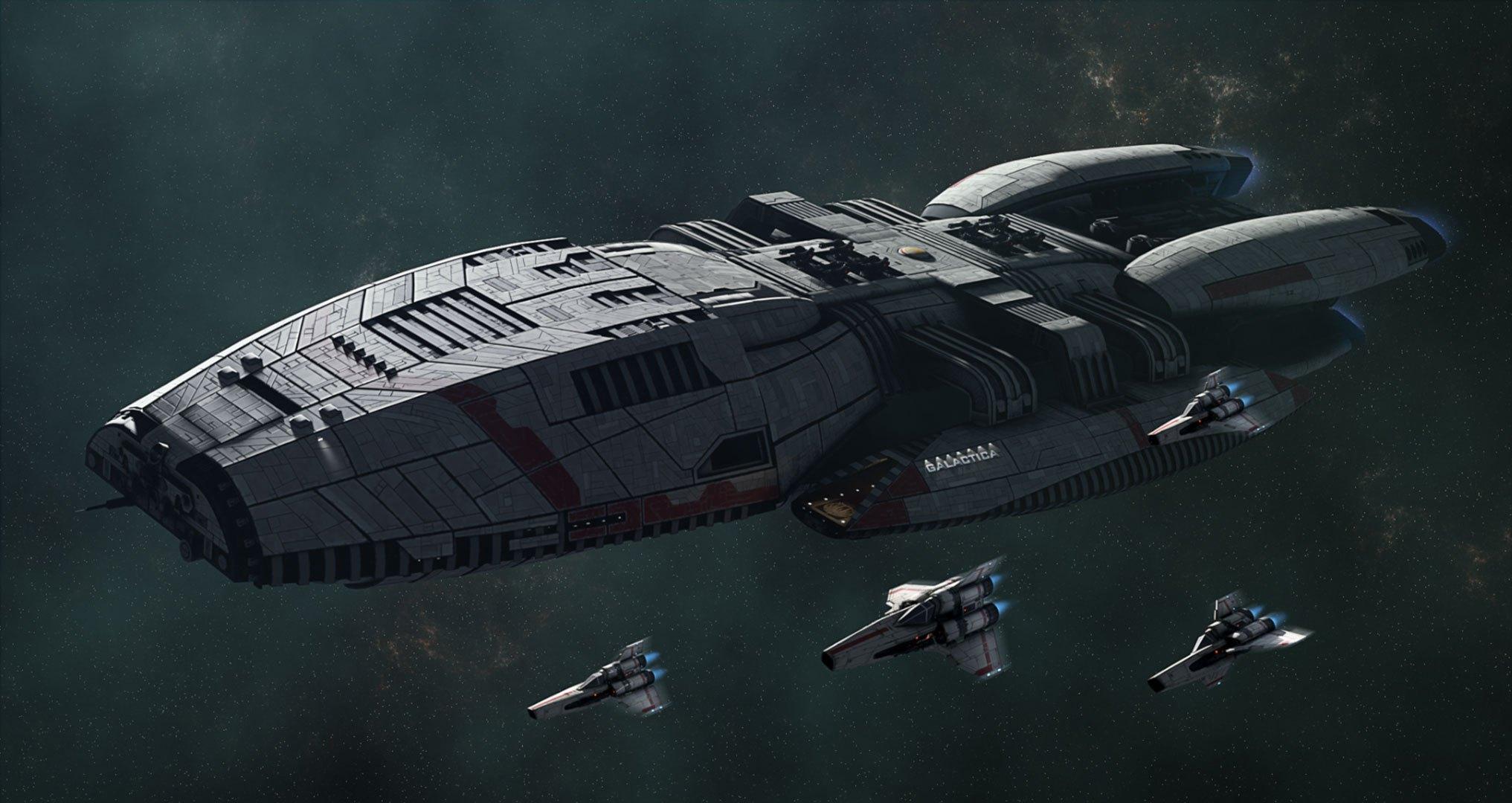 """К команде перезапуска «Звёздного крейсера """"Галактика""""» присоединился сценарист «Макбета»и «Кредо убийцы»"""