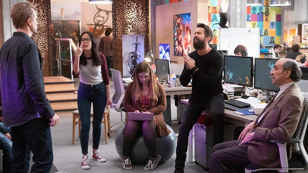 22 мая выйдет карантинный спецэпизод комедийного сериала «Мифический квест»