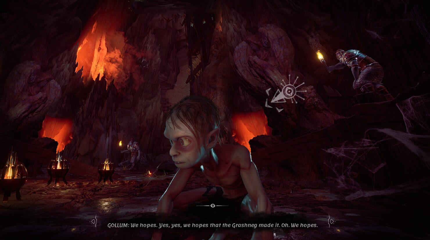 Daedalic показала первые скриншоты The Lord of the Rings: Gollum 6