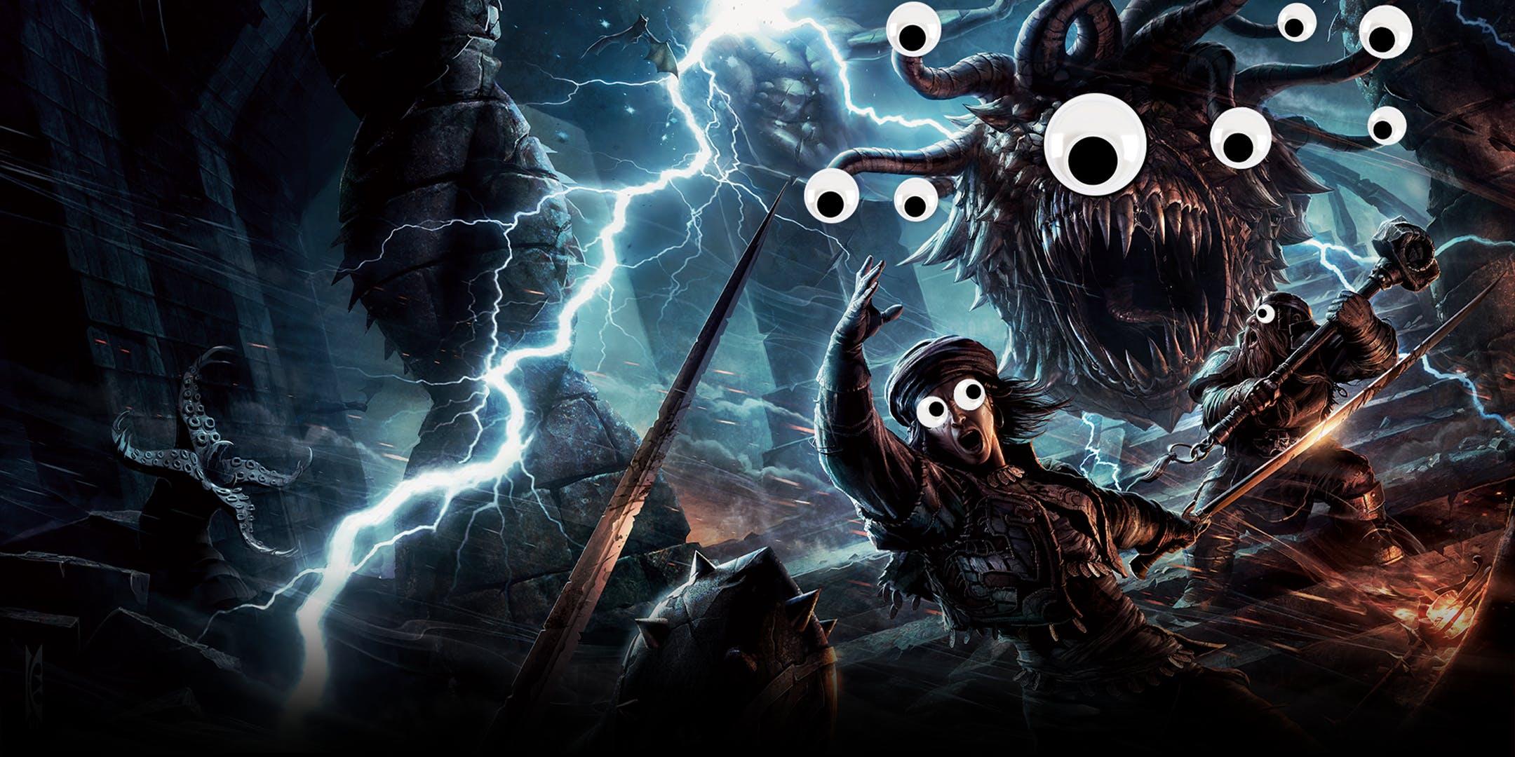 Джои Бэти — Лютик из «Ведьмака» — создал монстра для Dungeons & Dragons