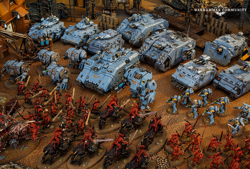 С чего начать знакомство с Warhammer 40,000