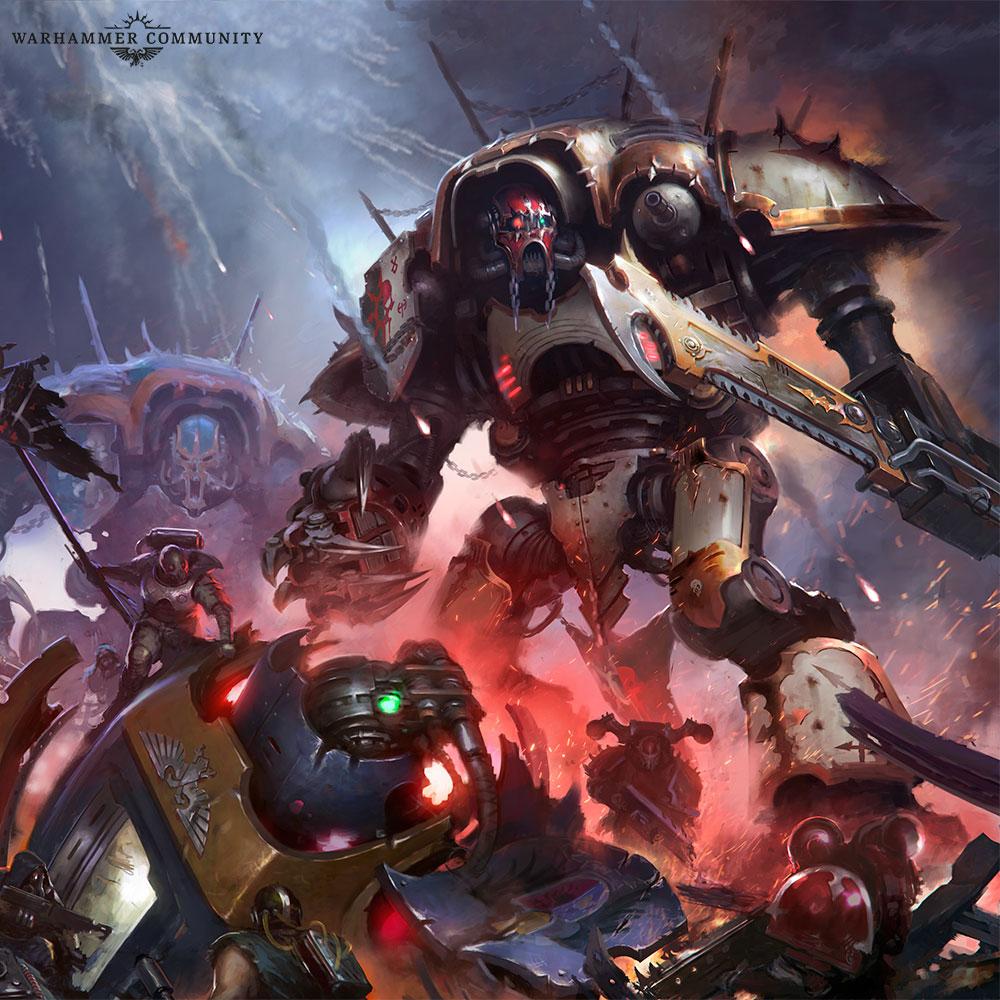 С чего начать знакомство с Warhammer 40,000 3
