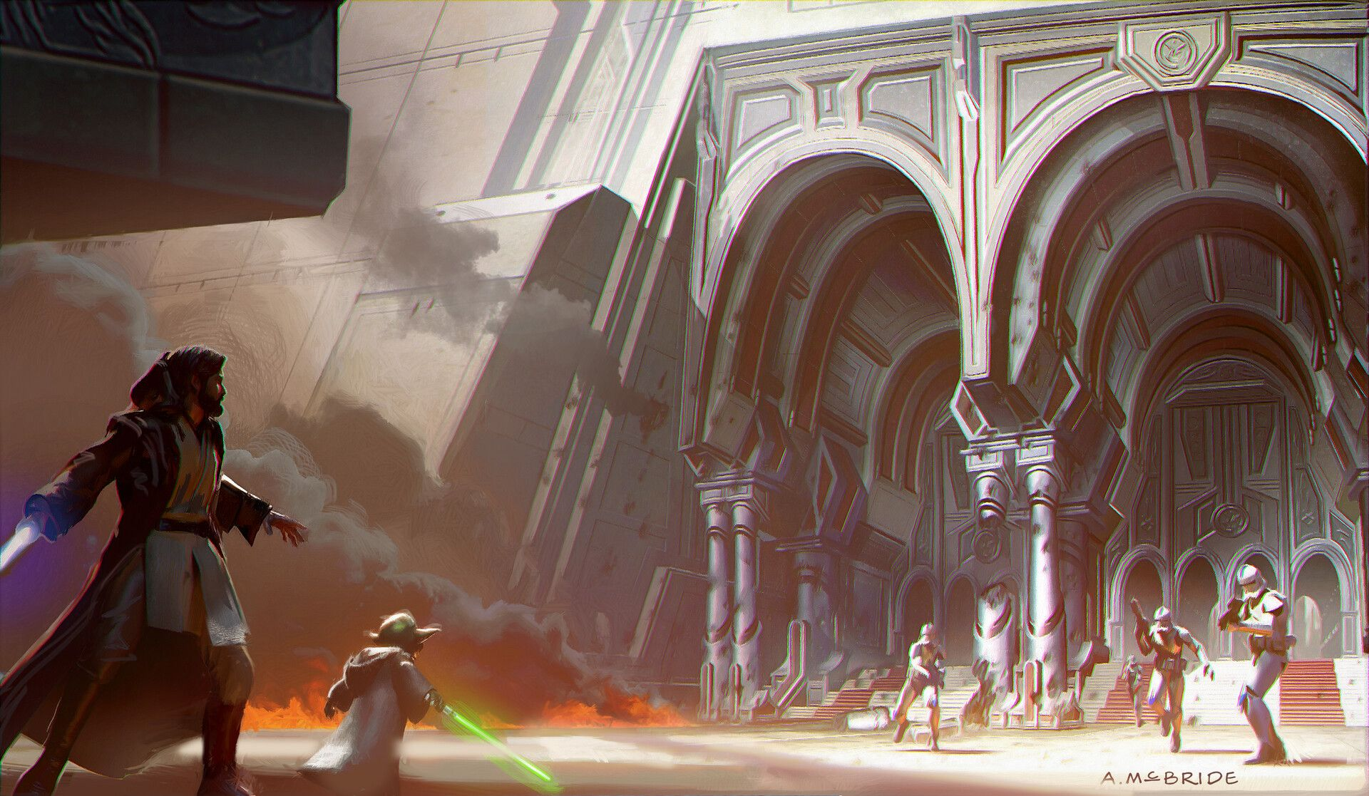 Как снимали «Месть ситхов»: прежний финал «Звёздных войн»