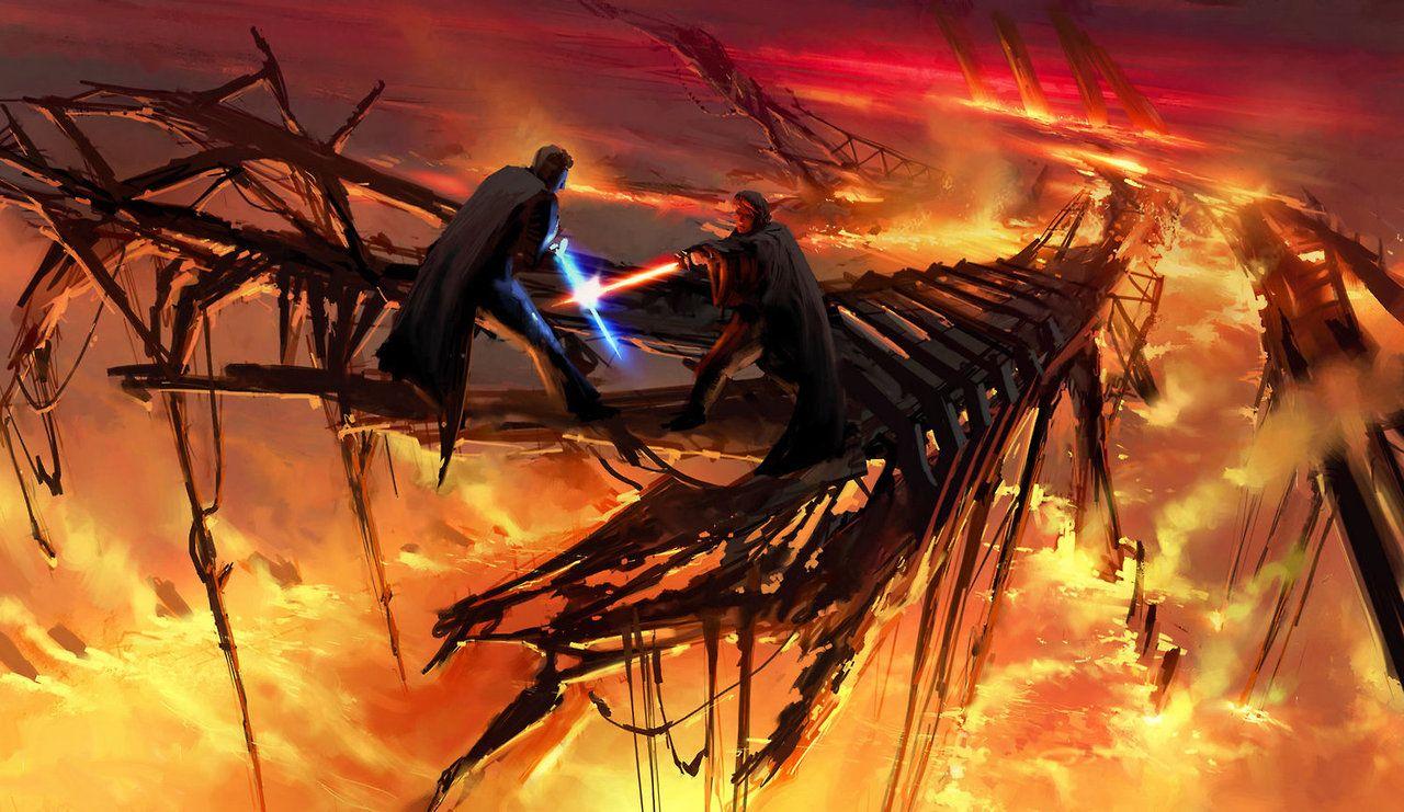 Как снимали «Месть ситхов»: прежний финал «Звёздных войн» 6