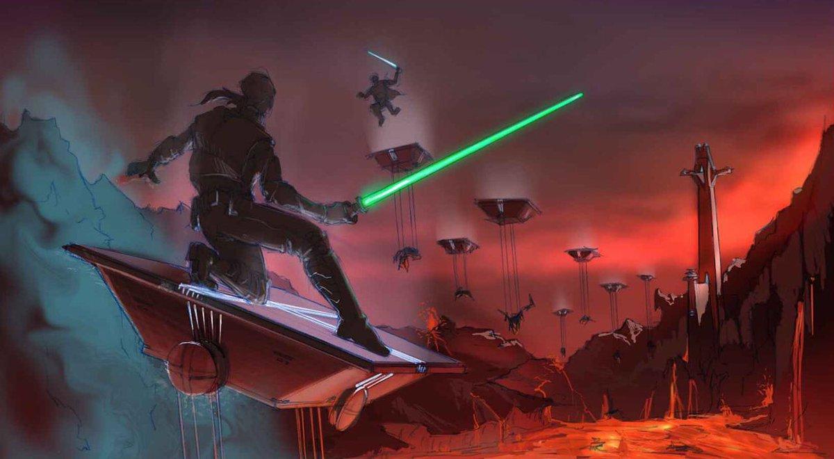 Как снимали «Месть ситхов»: прежний финал «Звёздных войн» 7