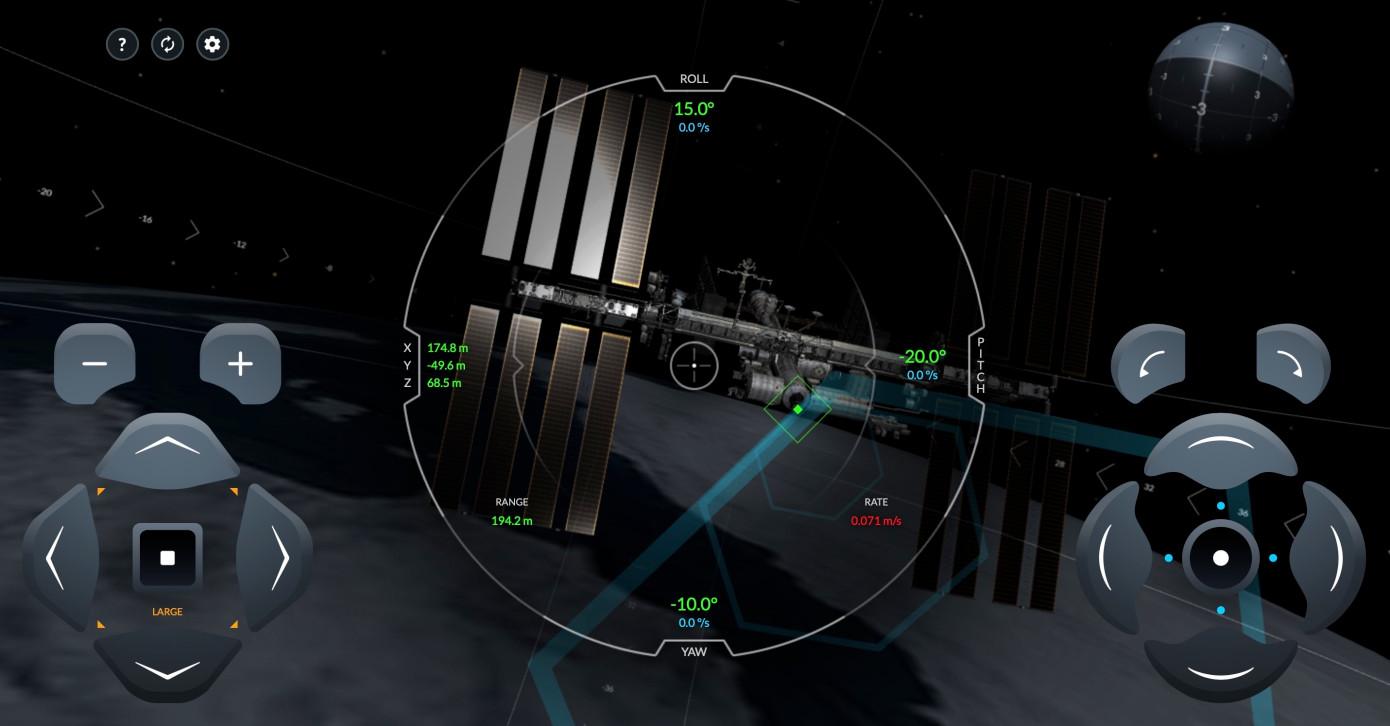 SpaceX запустил игру, вкоторой предлагает пристыковать Crew Dragon кМКС