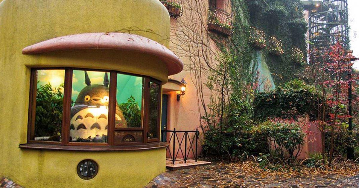 Работники музея студии Ghibli устроили виртуальный тур по нему