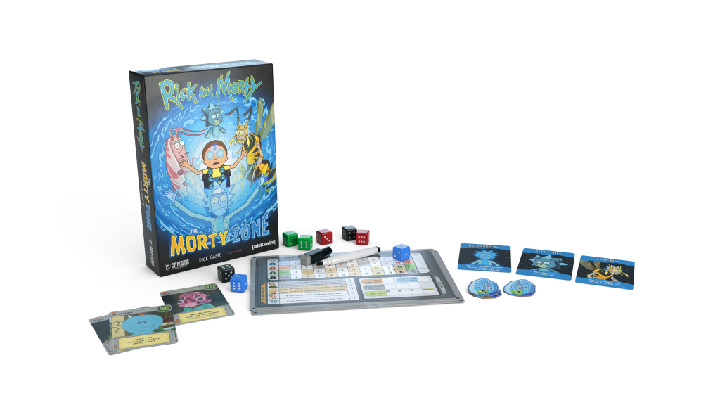 ПриключеThe Morty Zone Dice Gameние на 20 минут. Настолки по Рику и Морти