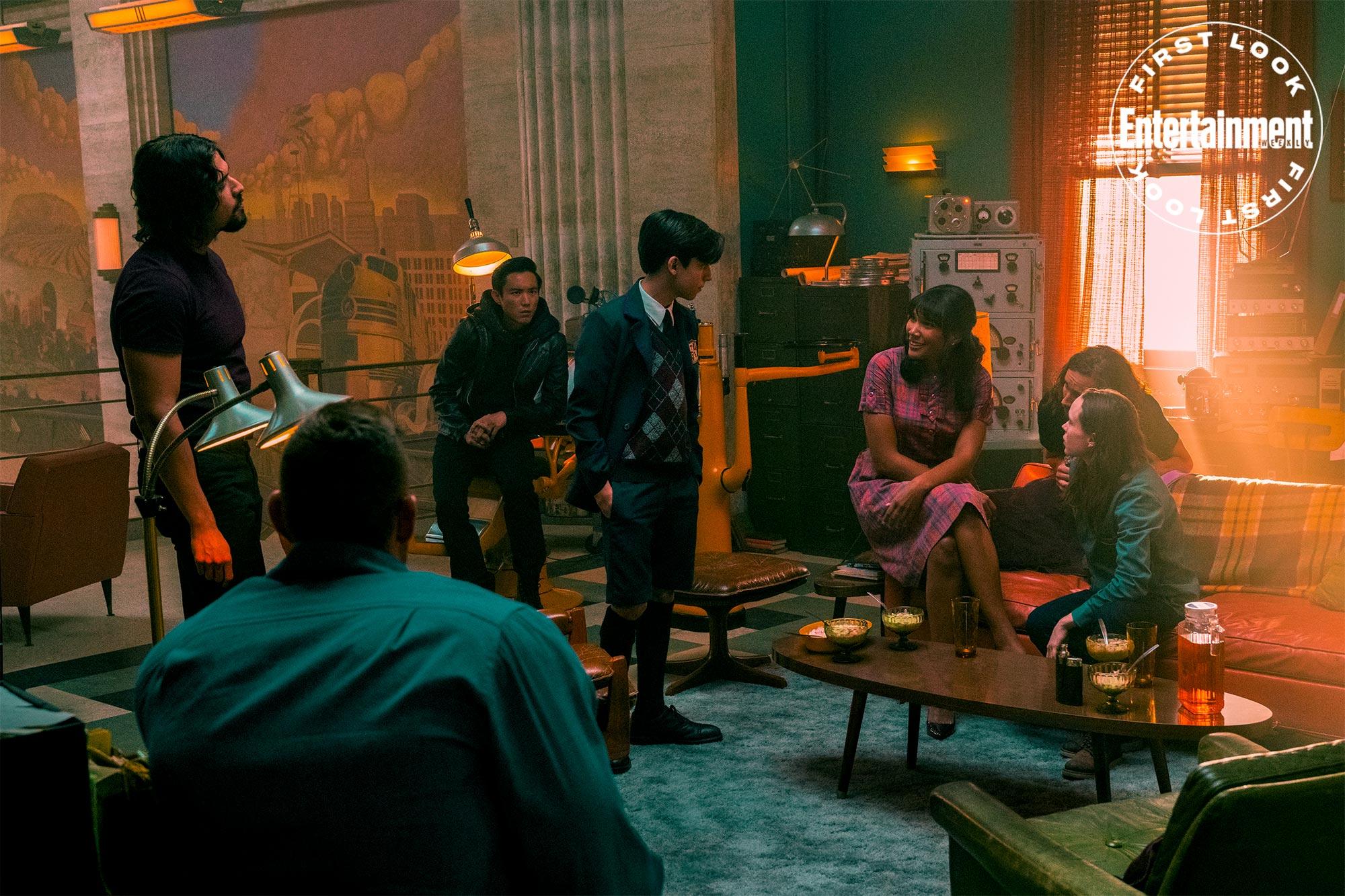 Первые кадры второго сезона «Академии Амбрелла»